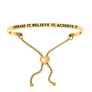 Dream It, Believe It, Achieve It Bangle
