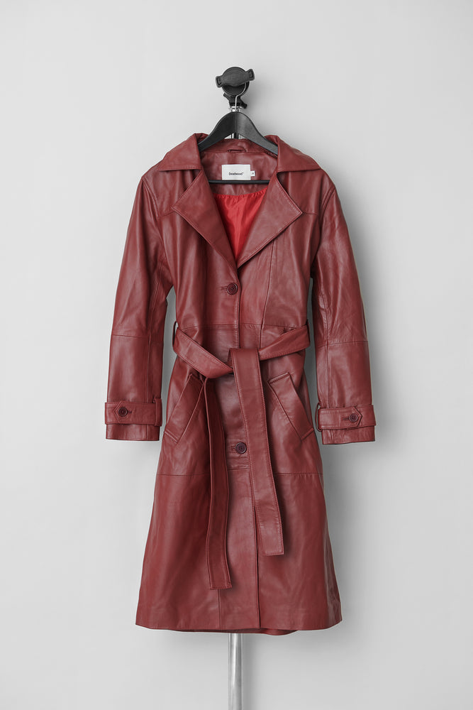 Terra Trench Deep Red
