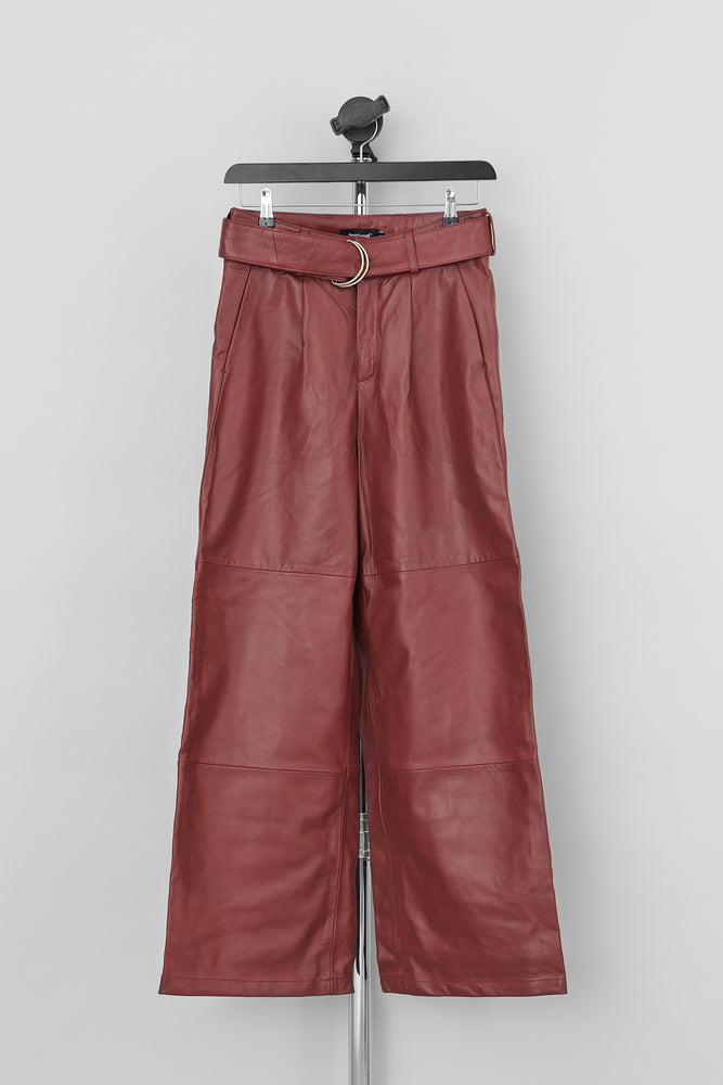 Load image into Gallery viewer, Poppy Pants Deep Red