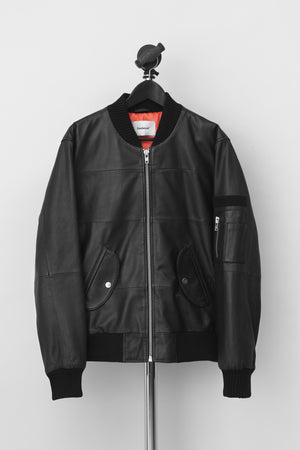 Combo Leather Jacket