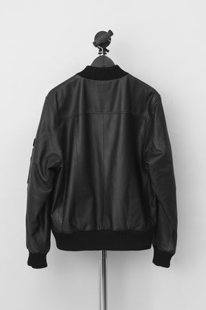 Load image into Gallery viewer, Womens Combo Leather Jacket