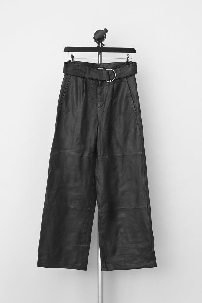 Poppy Leather Pants