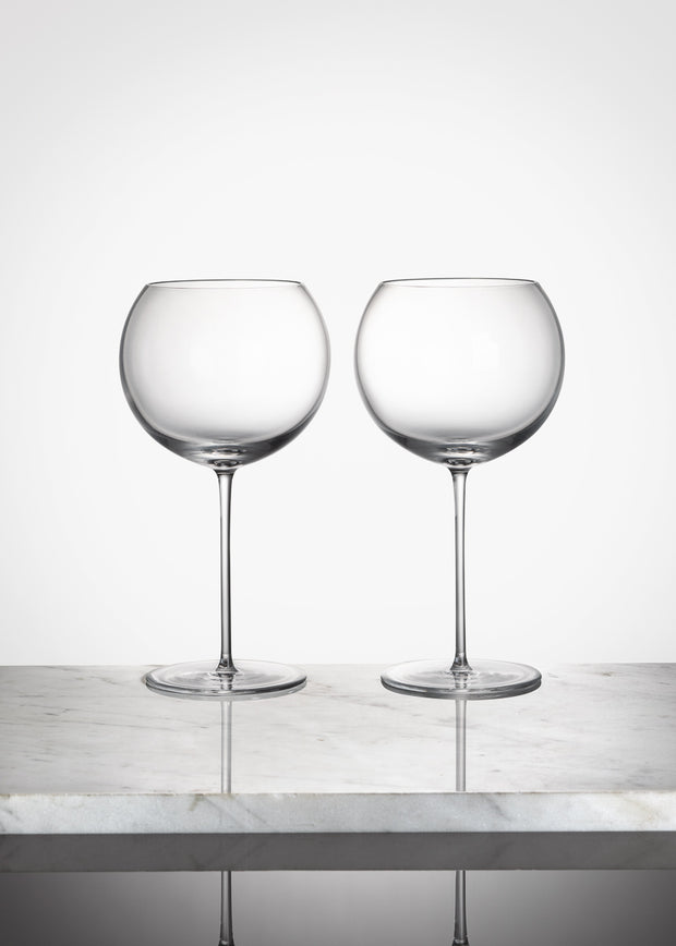 Red Wine glass classic
