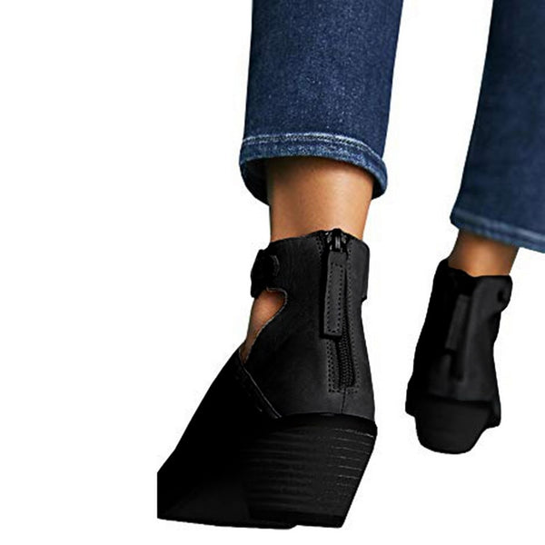 Women's Cut Out Booties