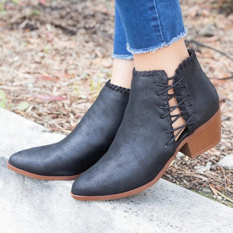 Women's Low Heel Boots