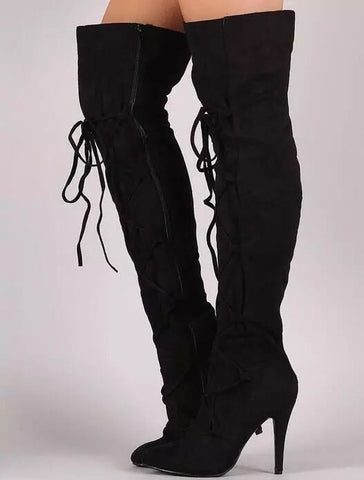 Handmade Fashion Over the Knee Boots