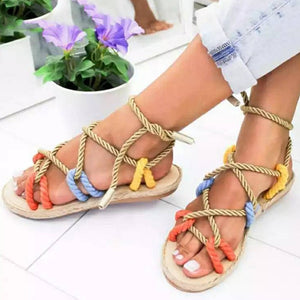 Bohemia Gladiator Color Sandals