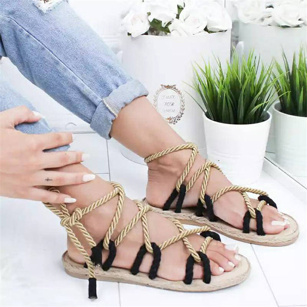 Color Gladiator Sandals