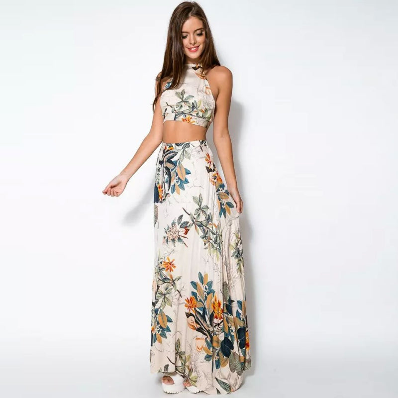 Maxi Floral Two Pieces