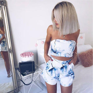 Floral Printed Mini  Set