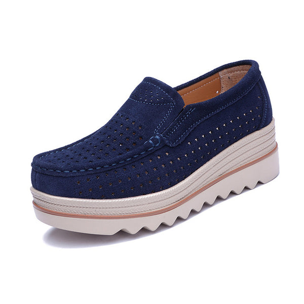 Casual Platform Loafers