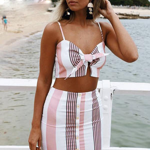 Mini Striped Two Pieces Set