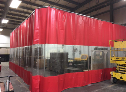 9ft Industrial Curtains