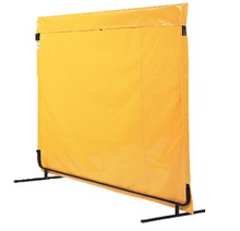 Load image into Gallery viewer, Industrial Privacy Curtain 8'H X 10'W Kit