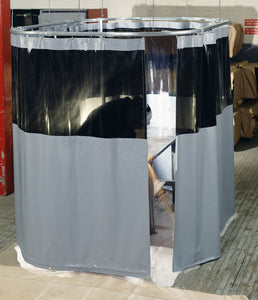 Welding Curtain Kit - 4'W X 8'H