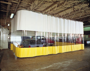 Industrial Curtains 10' x 10'