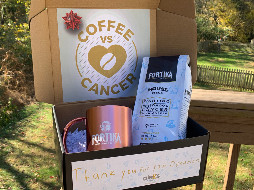 Valentine's Day Gift Box_Bag of Coffee and a Fortika Mug
