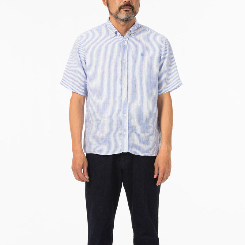 Short sleeve linen shirts(半袖リネンシャツ)