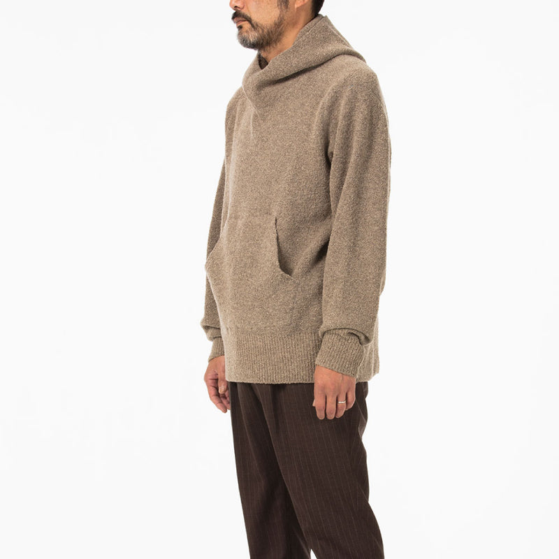Molded knit hoodie(成型ニットパーカー)