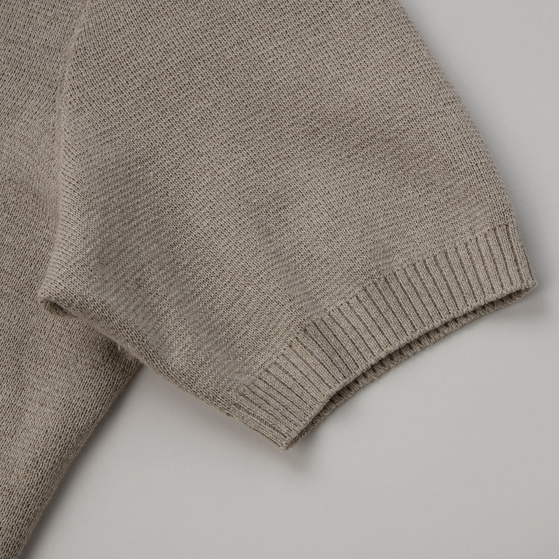 Molded knit Polo(成型ニットポロ)<br>※残り一点