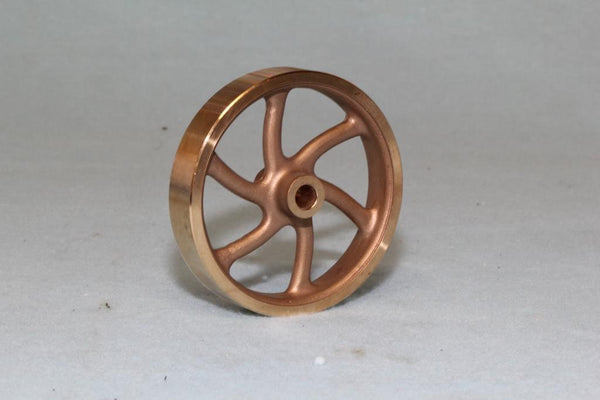 1037M Spoked Fly Wheel Machined