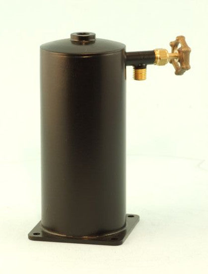 "4272 Vertical Refillable Butane Gas Tank (1 1/2"" dia)"