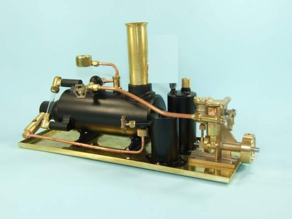 "4052 2"" Horizontal Boiler Tyne Model Boat Steam Plant - Assembled"