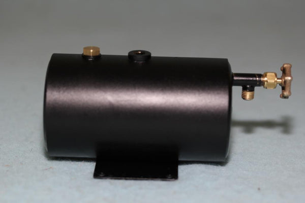 "4273 Refillable Horizontal Butane Gas Tank (2"" Dia - low profile)"