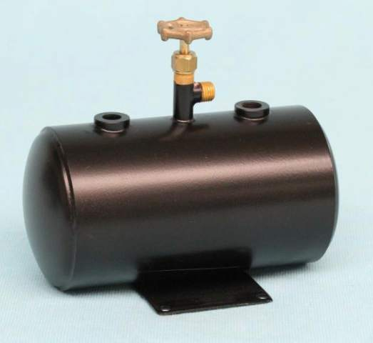 "4260 Refillable Horizontal Butane Gas Tank (2"" Dia)"