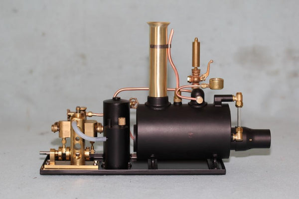 "4087W 3"" Horizontal Boiler/Avon Engine Steam Plant - with Whistle"