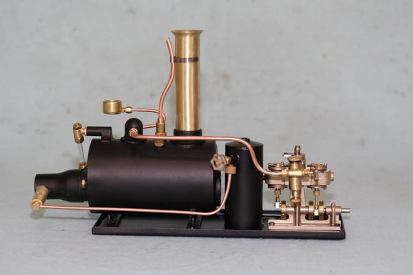 "4045 3"" Horizontal Boiler Steam Plant - Assembled - Custom Engine"