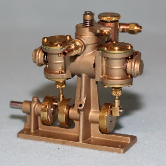 5009 Clyde Twin Cylinder Oscillating Steam Engine - Assembled