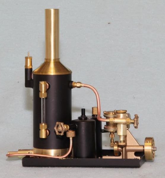 "4033 Steam Plant - Assembled - 2 inch ""Econo"" Vertical Boiler - Tyne Engine"