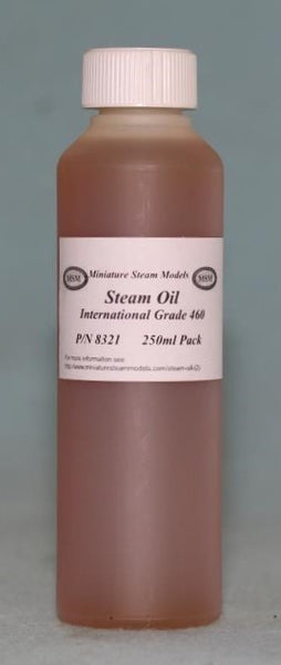 8321 Oils - Steam Oil per 250 ml.