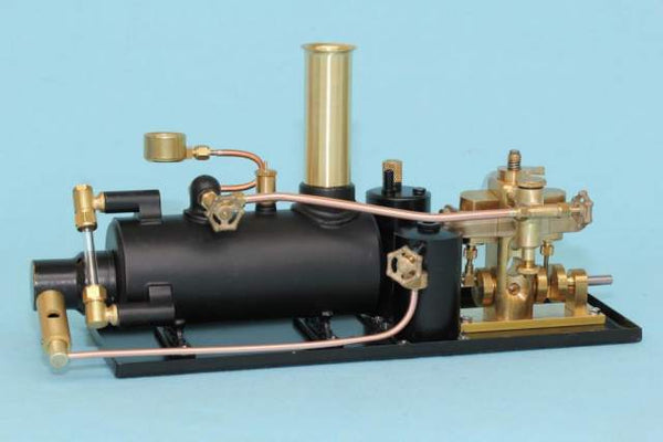 "4072 2"" Horizontal Boiler/Avon Steam Plant - Assembled"