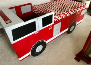 Children's Firetruck Bed/Play Set