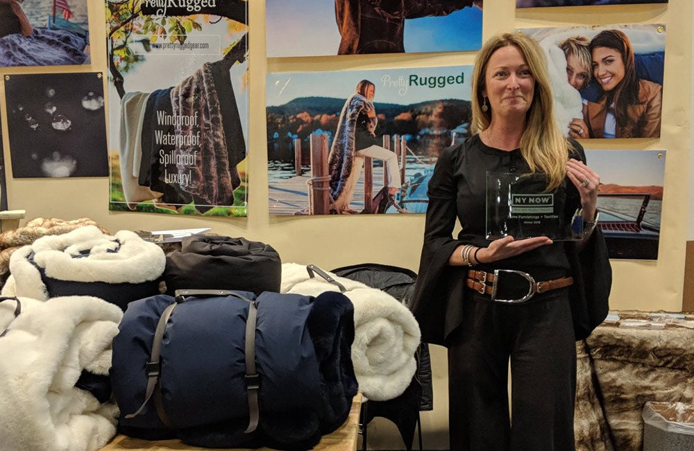 "Pretty Rugged Wins Prestigious ""Best in Market"" Award at NY NOW"