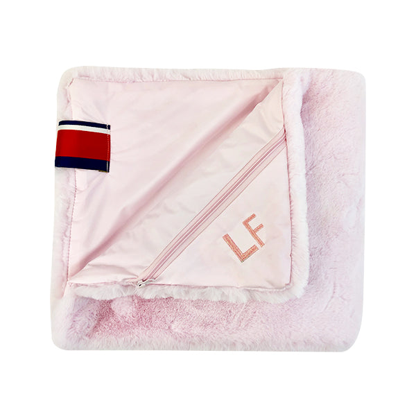 Amazon Luxe Faux Fur Pet/Toy Pink Mink Blanket