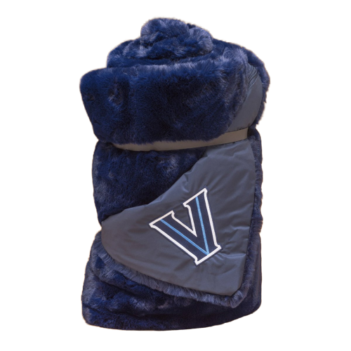 Special Edition Villanova Large Navy Blanket