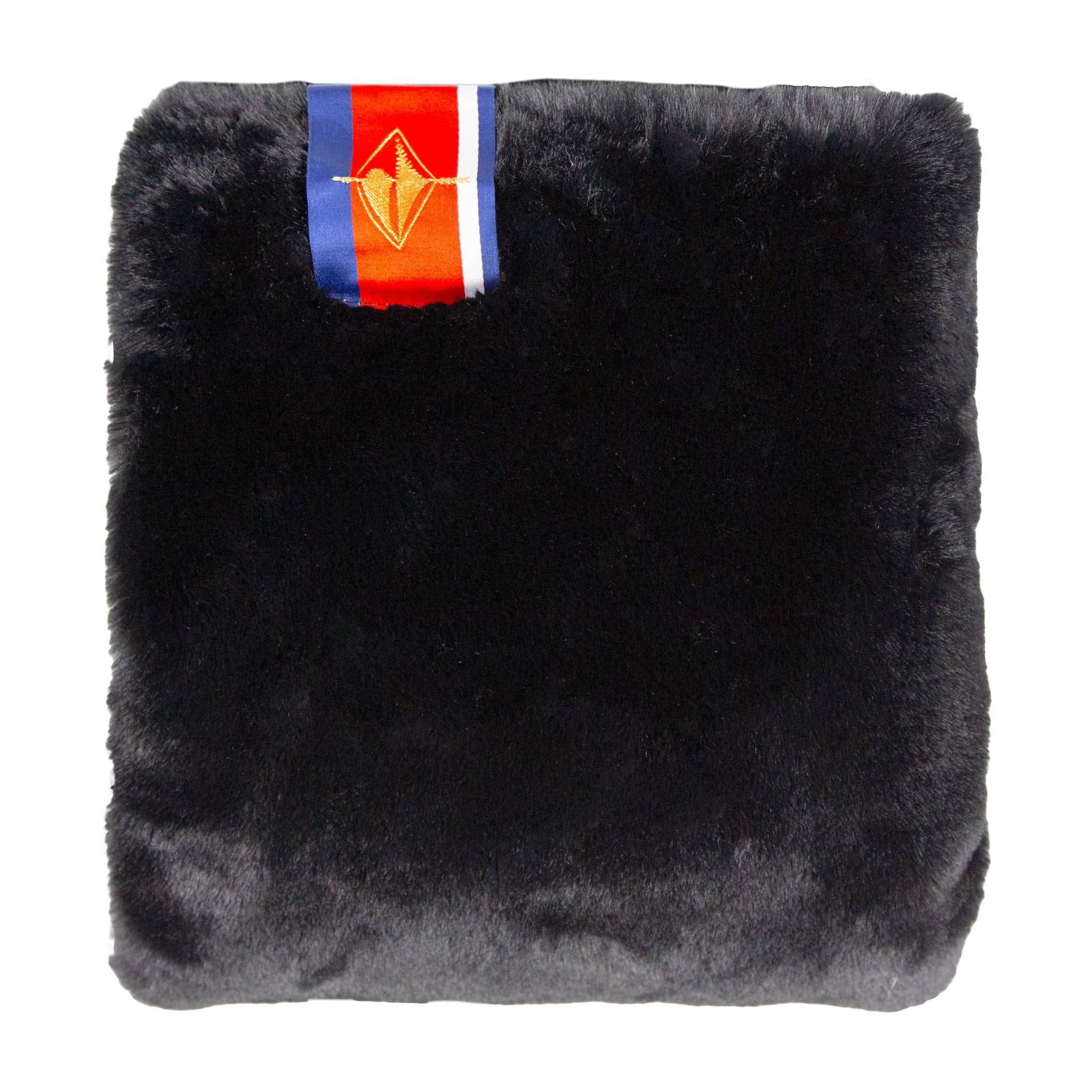 Amazon Luxe Faux Fur Pet Black Mink Blanket