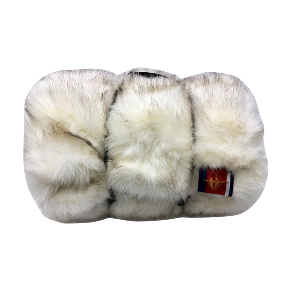 Luxe Limited Edition Faux Fur Pet Large White Fox Blanket