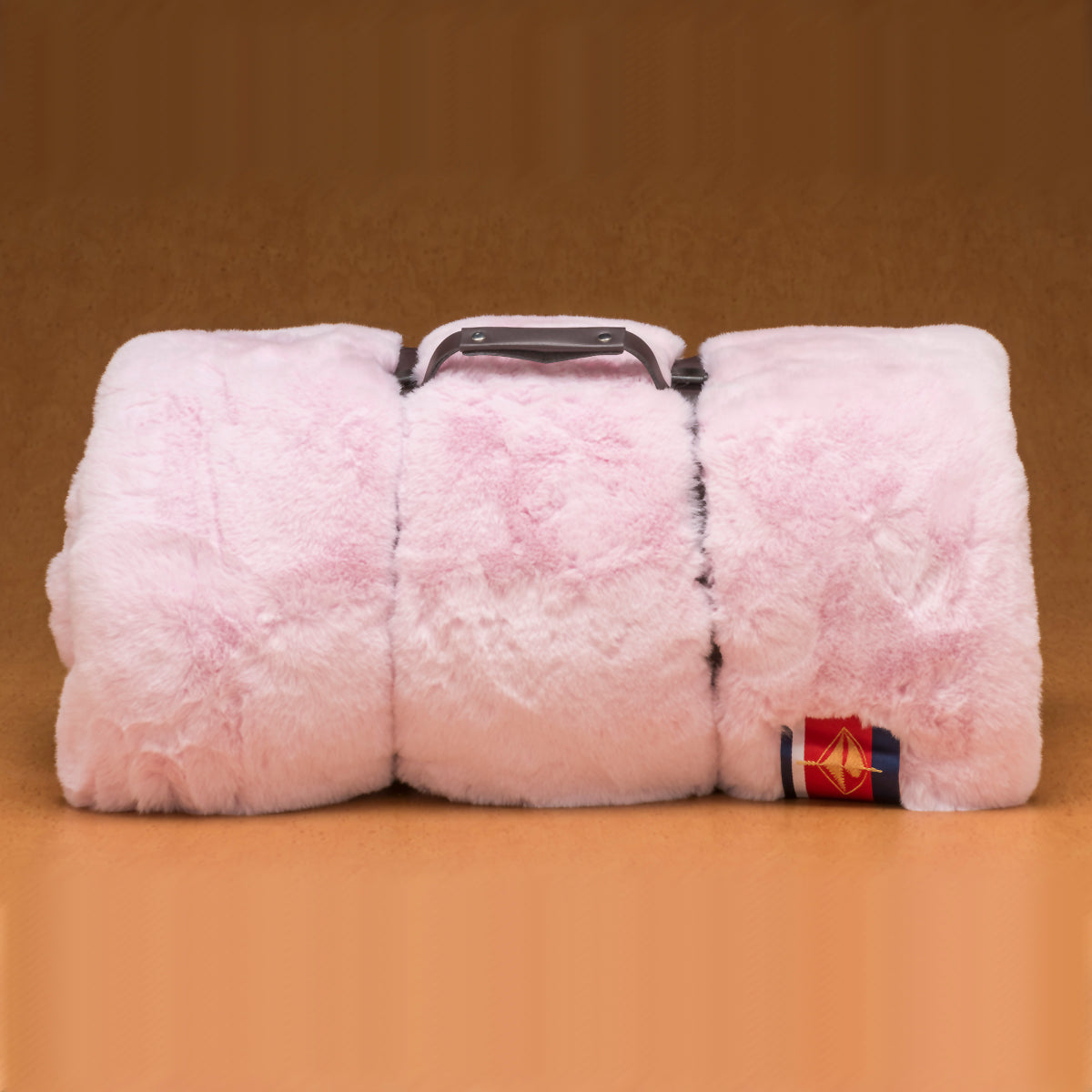 Pink Faux Fur Pet Blanket - Large