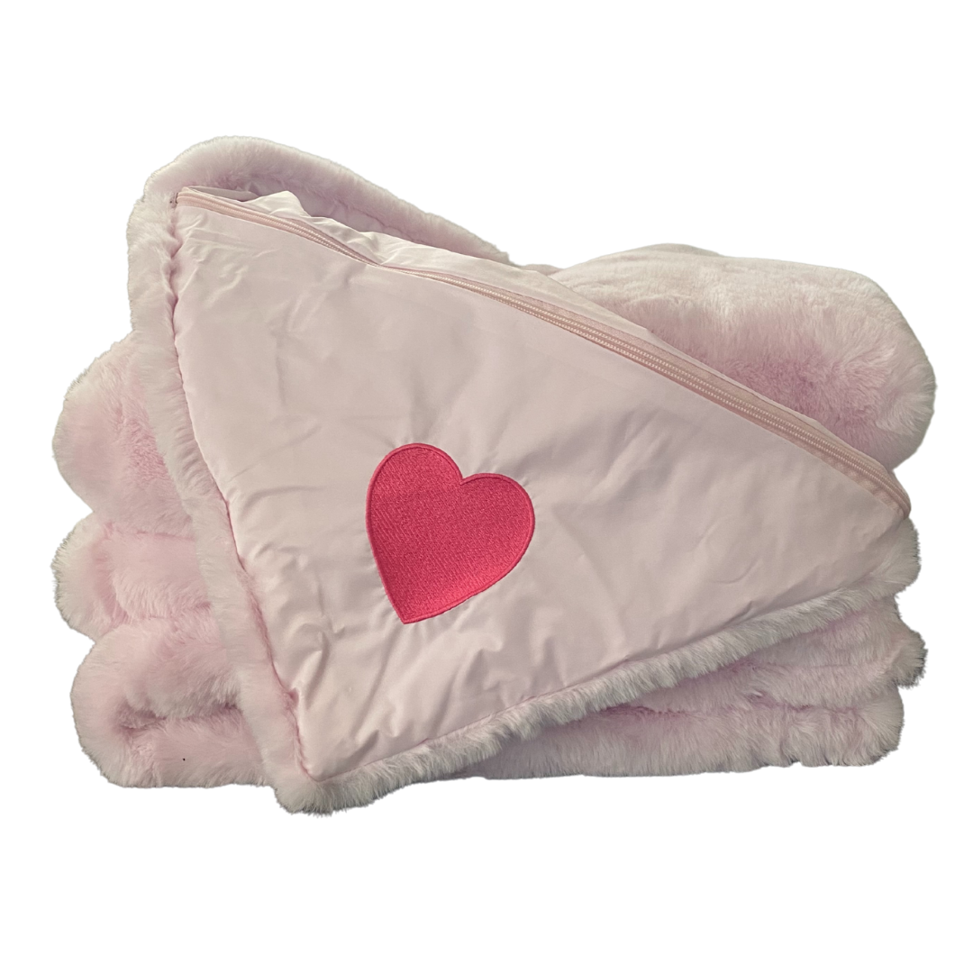 Pink Faux Fur Original Blanket