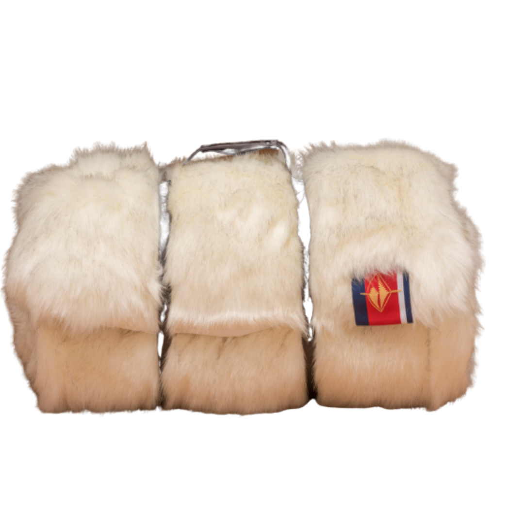 White Fox Faux Fur Limited Edition Blanket