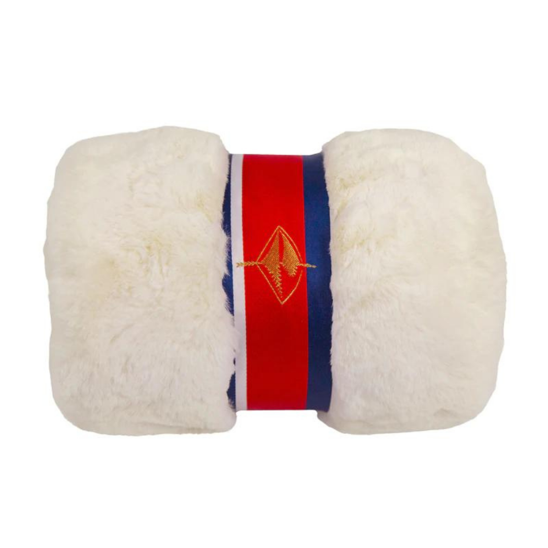 Black Faux Fur Lap Blanket