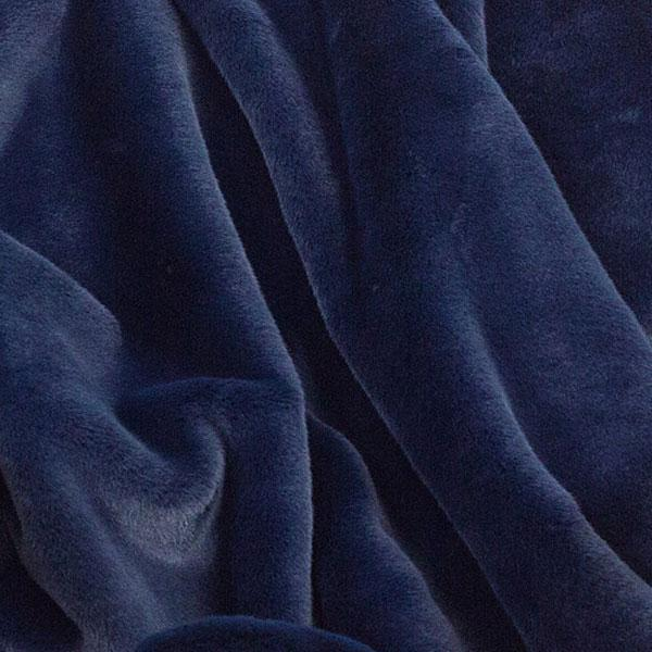 Amazon Luxe Faux Fur Pet Large Navy Mink Blanket