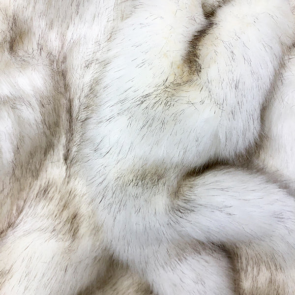 Luxe Limited Edition White Fox Blanket