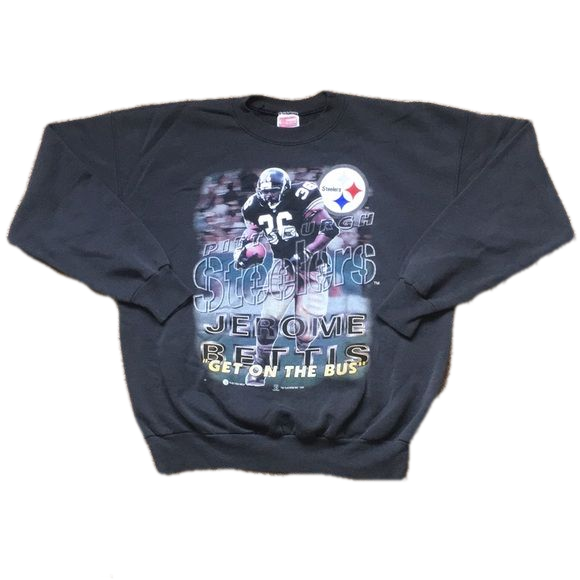 "Vintage ""Jerome Bettis"" Steelers Sweatshirt"