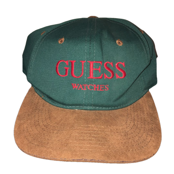 Vintage Guess Watches Snapback