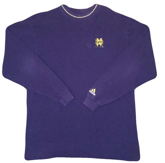 Adidas Notre Dame Long Sleeve